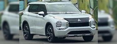 ¡Espiado! El Mitsubishi Outlander 2022 queda al descubierto en su nueva generación