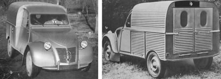 Citroen 2cv Furgoneta Au 1950