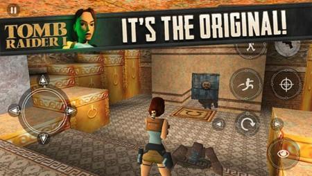 Tomb Raider Original Llega Ios Ipad Iphone Ipod Touch Square Enix App Store 1