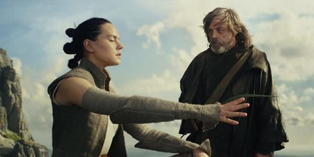 Star Wars The Last Jedi Rey Luke Force