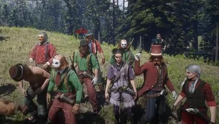 Una marea de payasos ha asaltado Red Dead Online para quejarse por la falta de contenidos