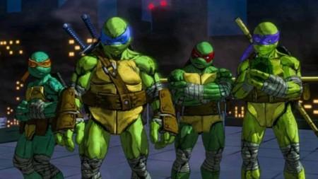 Leonardo nos muestra un poco de sus movimientos en TMNT: Mutants in Manhattan