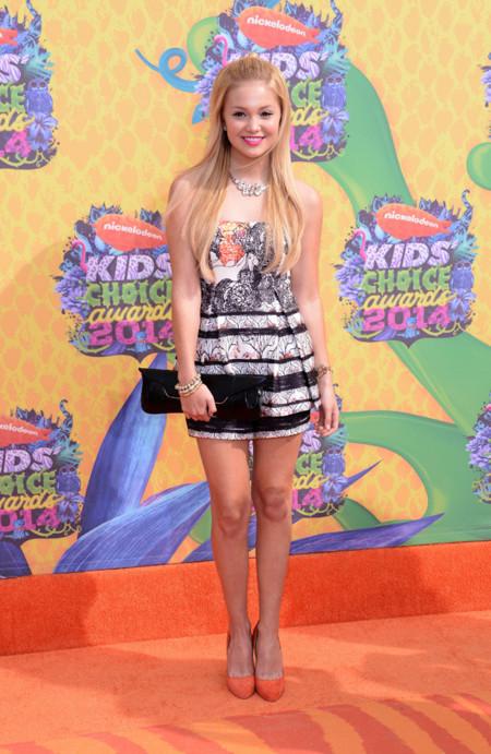Olivia Holt Kids Choice Awards mejor vestidas