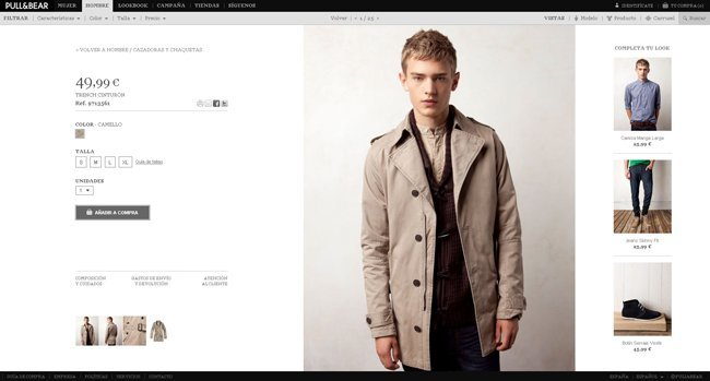 Compra Pull and bear tienda online