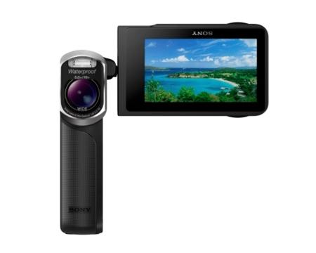 Sony GW55VE, la primera Handycam que se puede mojar