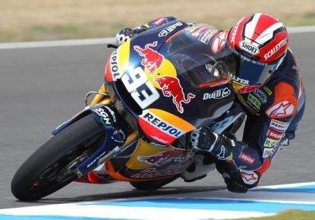 MotoGP España 2010: Marc Márquez se hace con la pole de los 125cc batiendo el record del trazado