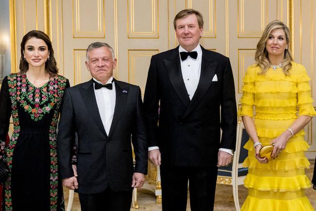 Maxima De Holanda Y Rania De Jordania Vestido Amarillo