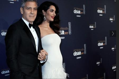 George y Amal Clooney ya son padres de dos bebés