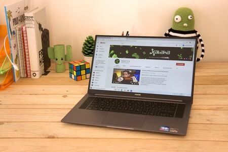 Honor MagicBook Pro, análisis: el equilibrio hecho portátil doméstico gracias a Ryzen 5 y un precio asequible