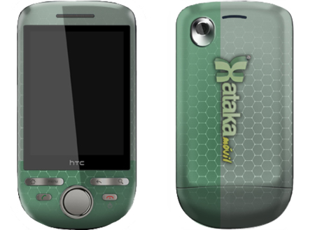 Diseña la carcasa de tu HTC Tattoo, o elige entre las prediseñadas