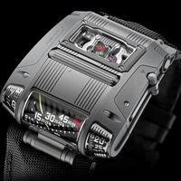 Urwerk UR-100C, el extravagante reloj futurista que quiere reinventar los relojes