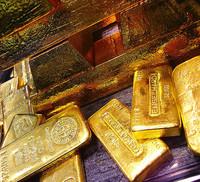 Máquinas expendedoras de oro