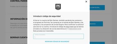 Cómo borrar tu cuenta de Epic Games Store definitivamente
