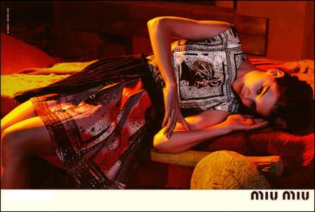 Todas las fotos de Katie Holmes para Miu Miu, Primavera-Verano 2009