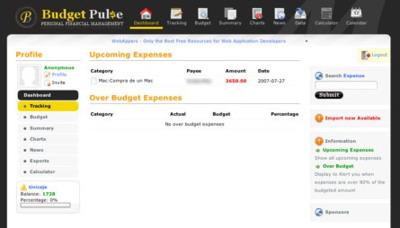 BudgetPulse, gestionando nuestros movimientos económicos