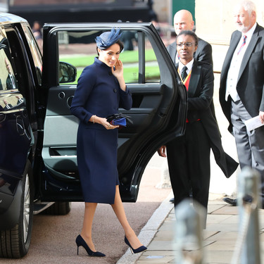 Boda real de la princesa Eugenia de York y Jack Brooksbank: Meghan Markle decepciona con un look demasiado serio y soso