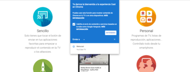 Esto es todo lo que puedes hacer ahora que Google Cast ha sido integrado en Chrome