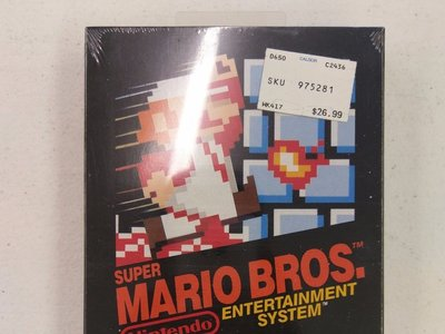 Logran vender un Super Mario Bros. de NES en eBay por 30.000 dólares