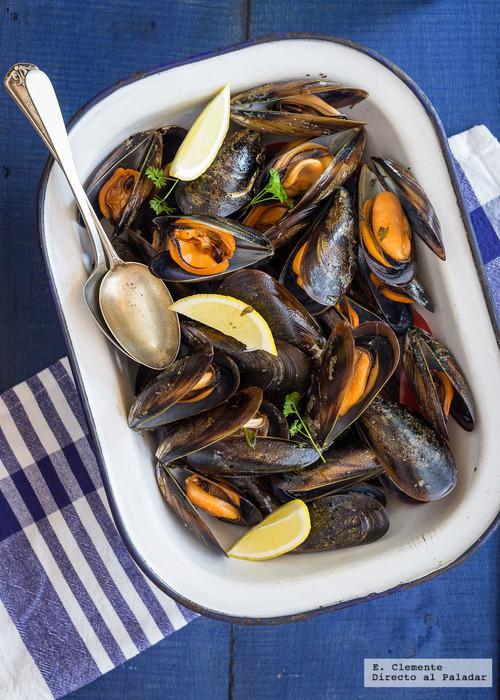 Mejillones al estilo italiano o impepata di cozze: receta