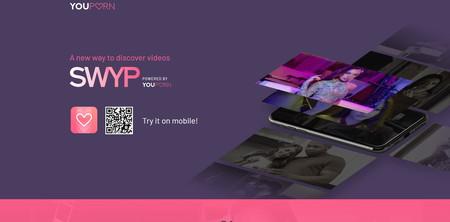 SWYP: el 'clon' porno de TikTok que YouPorn ha añadido a su web móvil
