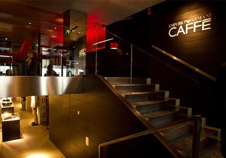 El Emporio Armani Caffe, la trattoria más chic de todo París