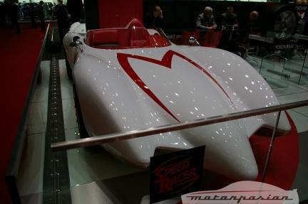 Un coche de película en Ginebra, el Mach 5 de Speed Racer