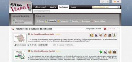 AudioViator, audioguías gratuitas y en español
