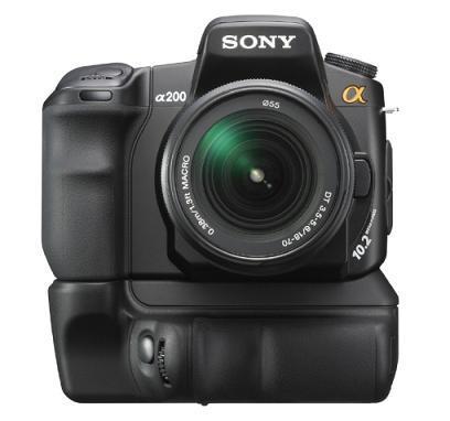 Cámara Sony Alpha A200 DSLR