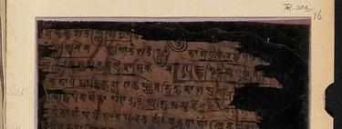 """El primer """"cero"""" de la historia tiene 1600 años y está escrito sobre una corteza de abedul"""