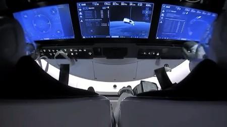 Tablero De Control De Crew Dragon