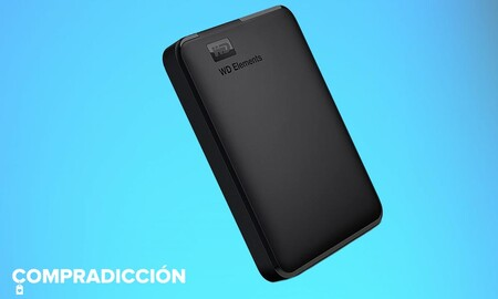 Llévate 1,5 TB a todas partes junto a tu portátil por menos de 50 euros con este disco duro portable de Western Digital