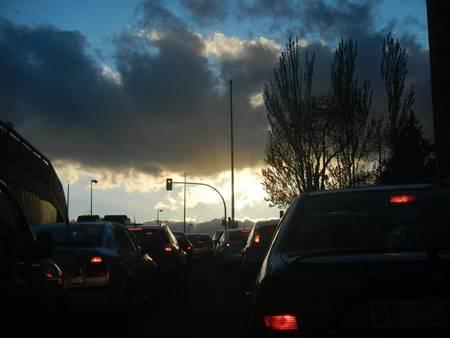 Un día en la ciudad como comercial: diesel vs híbrido