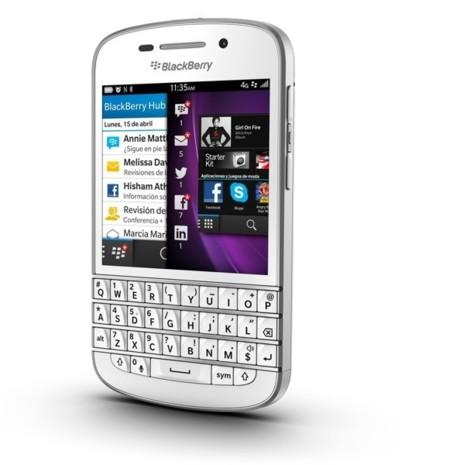 BlackBerry Q10, ya disponible en España