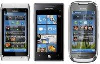 Precios Nokia N8, Nokia C7 y Samsung Omnia 7 con Movistar
