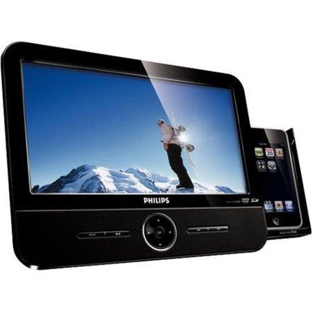 Televisor de 9 pulgadas con dock para iPod e iPhone