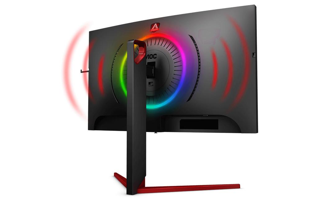 AOC amplía el mercado de monitores gaming con dos nuevos modelos: el AOC AGON AG273QCG y el AGON AG273QCX