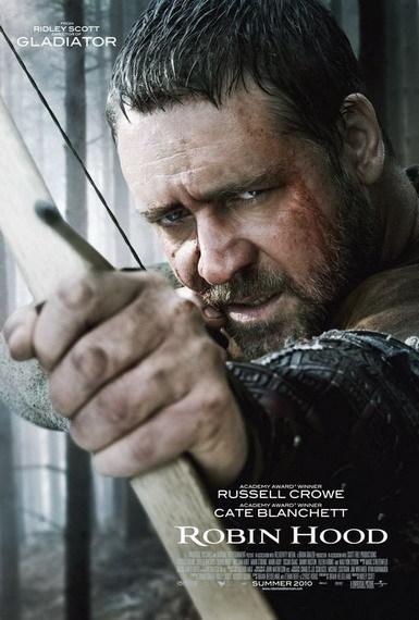'Robin Hood' de Ridley Scott, cartel