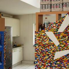 Foto 2 de 7 de la galería separando-espacios-con-un-muro-de-lego en Decoesfera