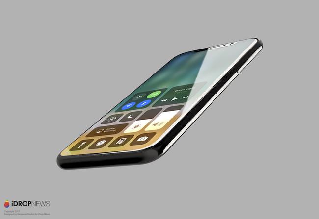 Concepto Iphone ocho Ios once Perfil