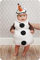 Disfraz de Olaf: convierte a tu peque en el más simpático muñeco de nieve