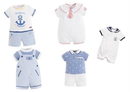 conjuntos bebé niño marinero