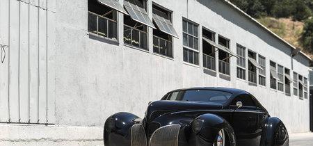 """Pura agresividad y elegancia. Así es el Lincoln Zephyr 1939 """"Scrape"""" hot rod (eh, y puede ser tuyo)"""