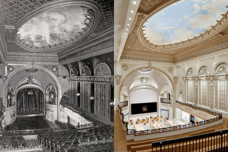 Apple Store Tower Theater Comparison