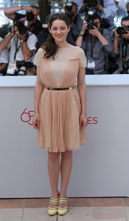 Marion Cotillard Cannes 2012 Día 2