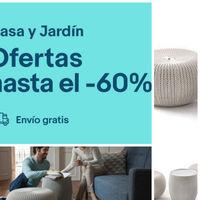 Home Week de eBay: set de 2 puff y una mesa para terraza por 79,50 euros y envío gratis