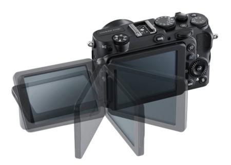 Nikon P7700 pantalla abatible