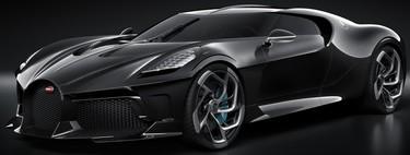 Bugatti La Voiture Noire, el auto nuevo más caro del mundo es un one-off de 1,500 hp y cuatro turbos