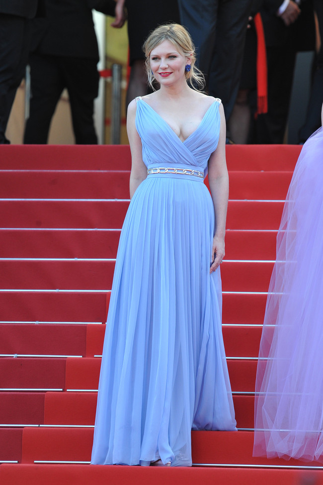 mejor vestidas 2017 alfombra roja Kirsten Dunst de Schiaparelli