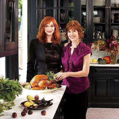 Casas de famosos: la cocina de Christina Hendricks