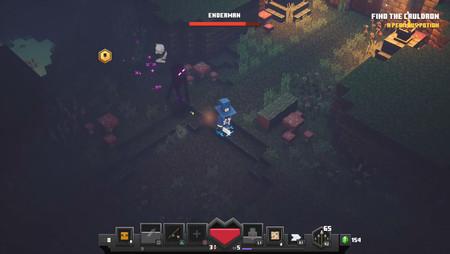 Guía Minecraft: Dungeons: cómo derrotar al Enderman